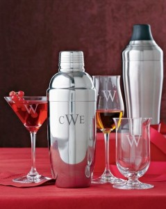 Williams Sonoma - Monogrammed Cocktail Shaker by OXO