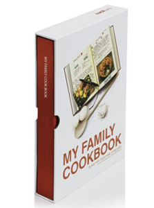Mother's Day Gifts My Family Cookbook