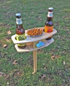 FaircraftUSA Outdoor Beer Table for Father's Day