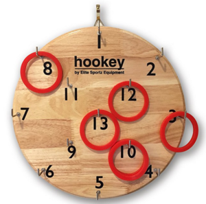 Hookey Ring Toss Game for Father's Day