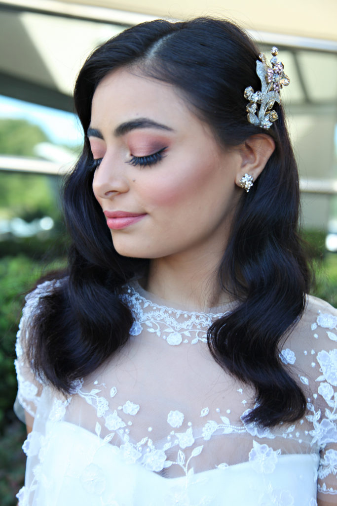 Wedding Trends 2018 Hair and Makeup Old Hollywood Glam