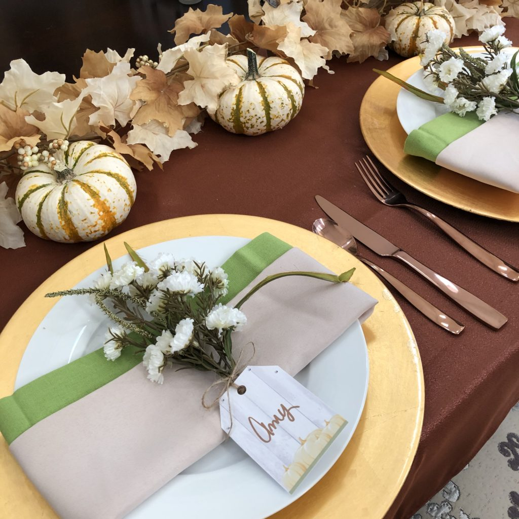 Fall Entertaining Decor
