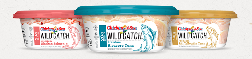 Wild Catch Chicken of the Sea - Easy Back to School Lunch or Dinner