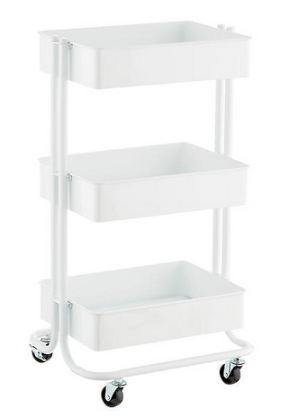 Container Store Three Tiered Cart