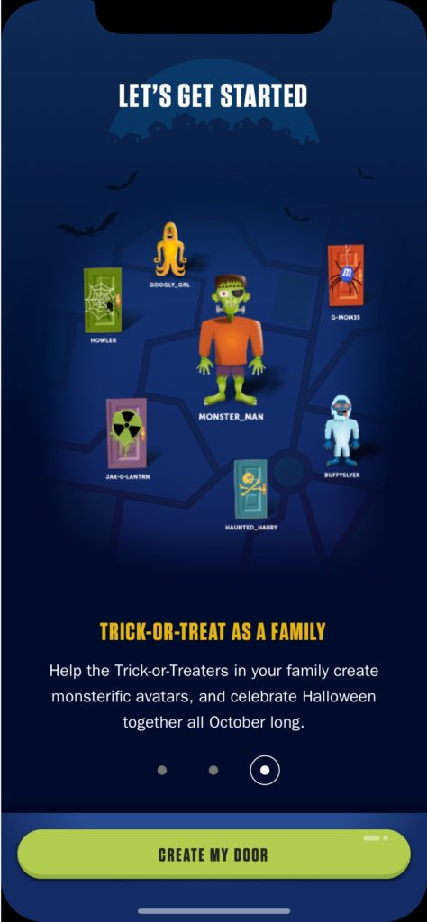 Treat Town Virtual Trick-or-Treating App